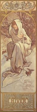 The Seasons: Winter, 1897 by Alphonse Mucha