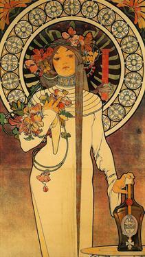 The Trappistine, 1897 by Alphonse Mucha