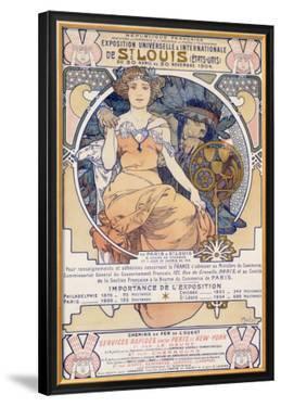 World's Fair, St. Louis,, Missouri, 1904 by Alphonse Mucha