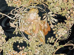 Young Woman, 1898-99 by Alphonse Mucha