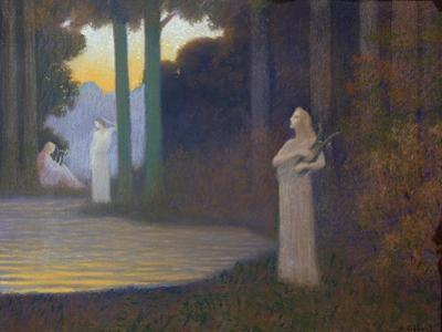 Lyricism in the Forest, 1910