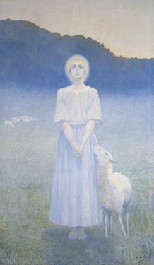 Vision, 1892 by Alphonse Osbert