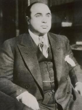 "Alphonse ""Scarface"" Capone Chicago Gangster"