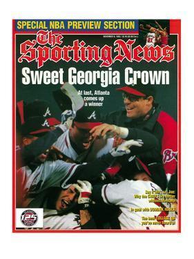 Altanta Braves - World Series Champions - November 6, 1995