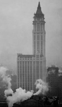 Woolworth Building by Alvin Langdon Coburn