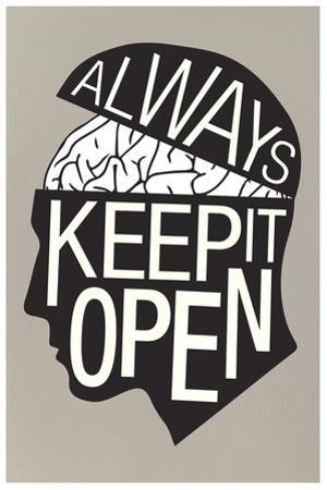 Always Keep It Open Poster