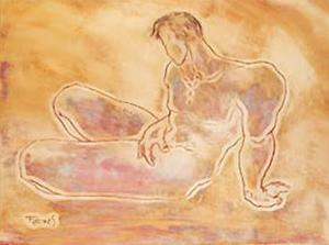 Male Sketch II by Amadeo Freixas