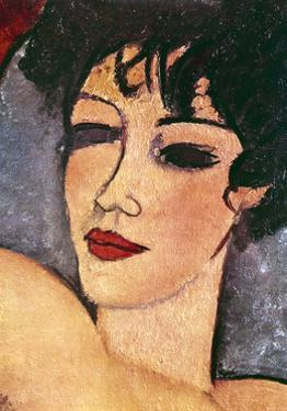 Detail of a Sleeping Nude, C1917 by Amadeo Modigliani