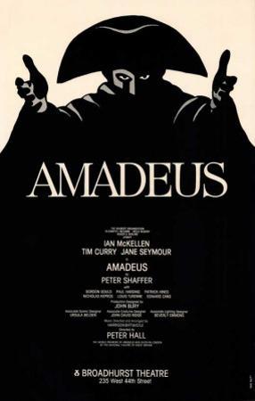 Amadeus - Broadway Poster , 1980