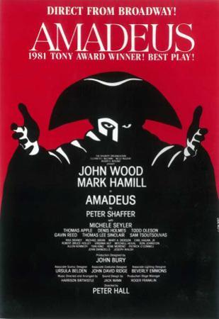 Amadeus - Broadway Poster
