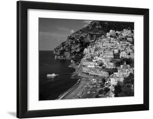 Amalfi Coast  Coastal View and Village  Positano  Campania  Italy