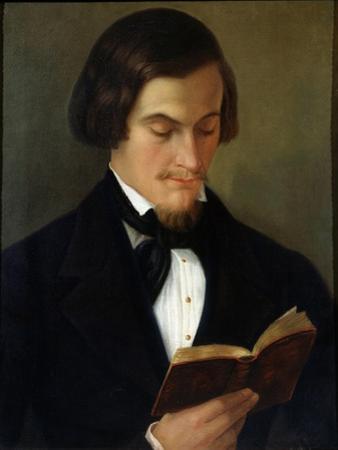 Portrait of the Poet Heinrich Heine, 1842