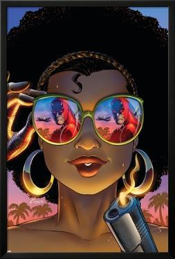 Daredevil: Dark Nights #8 Cover: Misty Knight, Daredevil by Amanda Conner