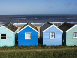 Beach Huts, Southwold, Suffolk, England, United Kingdom by Amanda Hall