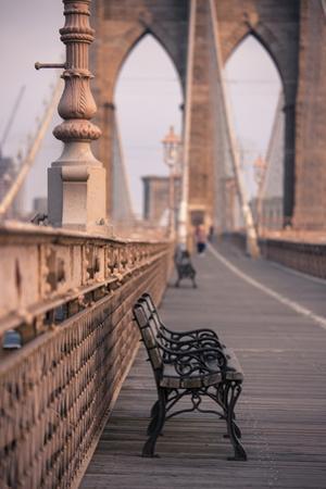 Brooklyn Bridge, New York, United States of America, North America