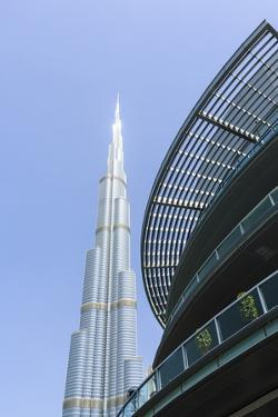 Burj Khalifa and Dubai Mall, Dubai, United Arab Emirates, Middle East by Amanda Hall