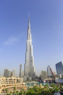 Burj Khalifa, Downtown, Dubai, United Arab Emirates, Middle East by Amanda Hall