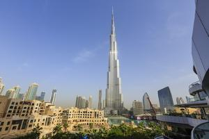 Burj Khalifa, Downtown, Dubai, United Arab Emirates, Middle East by Amanda Hall