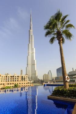 Burj Khalifa, Dubai, United Arab Emirates, Middle East by Amanda Hall
