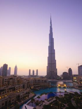 Burj Khalifa, Formerly the Burj Dubai, the Tallest Tower in the World at 818M by Amanda Hall