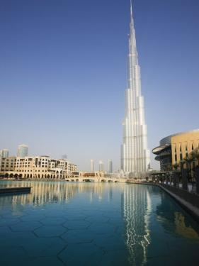 Burj Khalifa, Formerly the Burj Dubai, the Tallest Tower in the World at 818M by Amanda Hall
