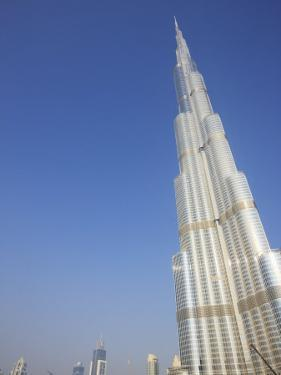 Burj Khalifa, the Tallest Tower in World at 818M, Downtown Burj Dubai, Dubai, United Arab Emirates by Amanda Hall
