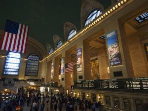Grand Central Terminal Interior, Manhattan, New York City, New York, USA by Amanda Hall
