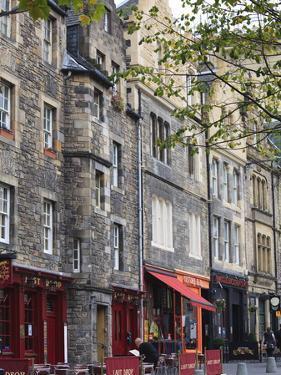 Grassmarket, the Old Town, Edinburgh, Scotland, Uk by Amanda Hall