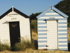 Old Beach Huts, Southwold, Suffolk, England, United Kingdom by Amanda Hall