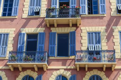 Old Town Architecture, Nice, Alpes Maritimes, Provence, Cote D'Azur, French Riviera, France, Europe by Amanda Hall