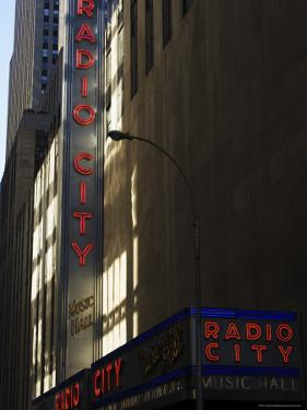 Radio City Music Hall, Manhattan, New York City, New York, USA by Amanda Hall