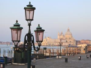 Riva Degli Schiavoni and Santa Maria Della Salute, Venice, Veneto, Italy by Amanda Hall