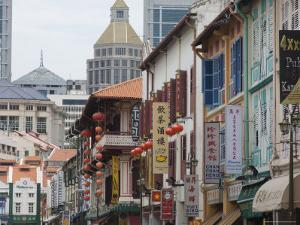 Sago Street, Chinatown, Singapore, South East Asia by Amanda Hall