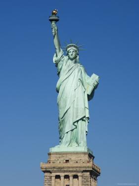 Statue of Liberty, Liberty Island, New York City, New York, United States of America, North America by Amanda Hall