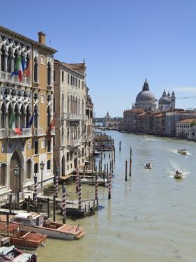 The Grand Canal and the Domed Santa Maria Della Salute, Venice, Veneto, Italy by Amanda Hall