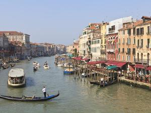 The Grand Canal, Venice, UNESCO World Heritage Site, Veneto, Italy, Europe by Amanda Hall