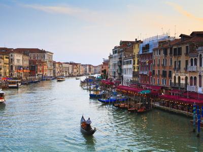 The Grand Canal, Venice, UNESCO World Heritage Site, Veneto, Italy, Europe