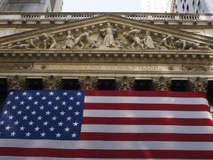 The New York Stock Exchange, Wall Street, Manhattan, New York City, New York, USA by Amanda Hall