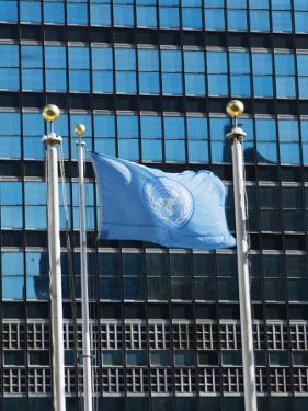 The United Nations Building, Manhattan, New York City, New York, USA by Amanda Hall