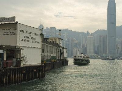 Tsim Sha Tsui Star Ferry Terminal, Kowloon, Hong Kong, China
