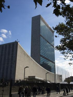 United Nations Headquarters Building, Manhattan, New York City, New York, USA by Amanda Hall