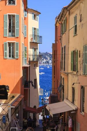 Villefranche-Sur-Mer, Alpes Maritimes, Provence, Cote D'Azur, French Riviera, France, Europe by Amanda Hall