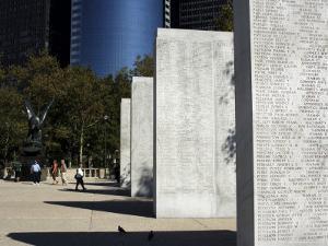 War Memorial, Battery Park, Manhattan, New York City, New York, USA by Amanda Hall