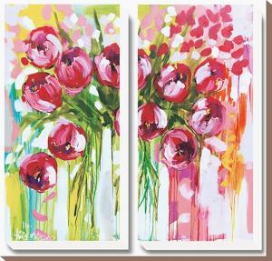 Razzle Dazzle Tulips by Amanda J^ Brooks