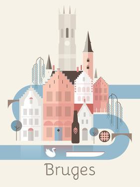 Bruges Belgium by Amanda Shufflebotham