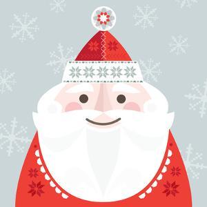 Christmas Santa by Amanda Shufflebotham
