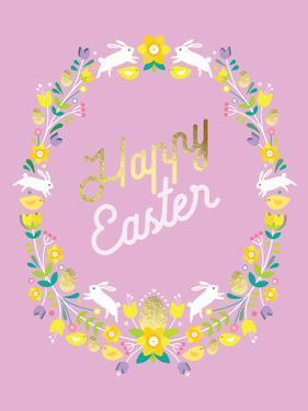 Happy Easter 3 by Amanda Shufflebotham