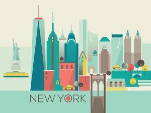 New York by Amanda Shufflebotham