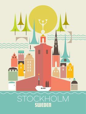 Stockholm Sweden by Amanda Shufflebotham