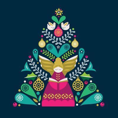 Tree Angel by Amanda Shufflebotham